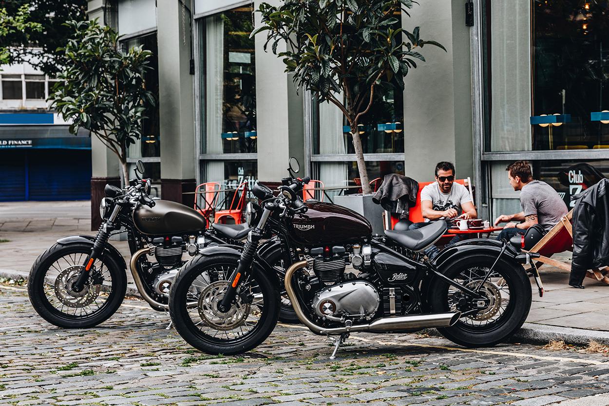 revealed: the new triumph bonneville bobber | bike exif