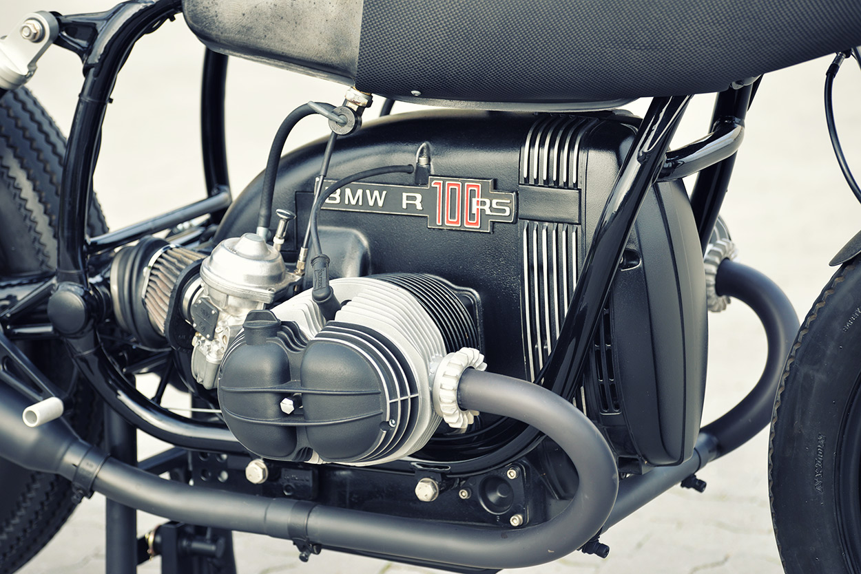 Werk Of Art Walzwerks Bmw R80 Cafe Racer Bike Exif Battery Wiring Harness K100lt A Solid Round Dyno Testing And Tuning Returned Healthy 82 Horses At The Rear Wheel Thats Lot Heft For An Old Airheadso Walzwerk Reinforced