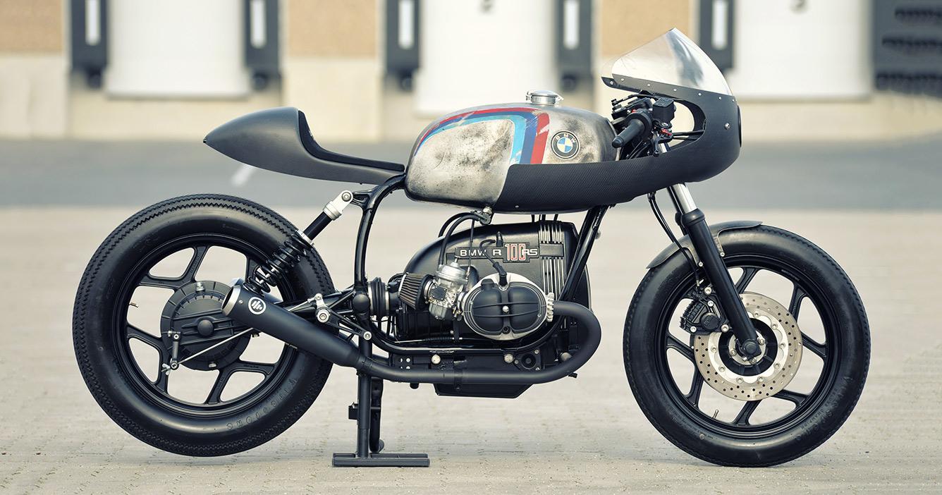 Werk Of Art: WalzWerk's BMW R80 cafe racer