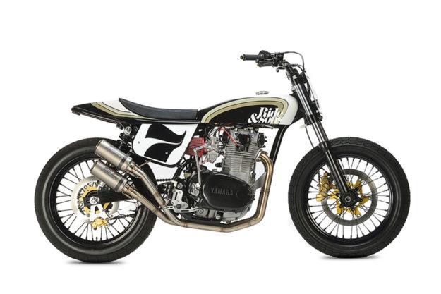 Yamaha XS650 by Le Garage de Félix