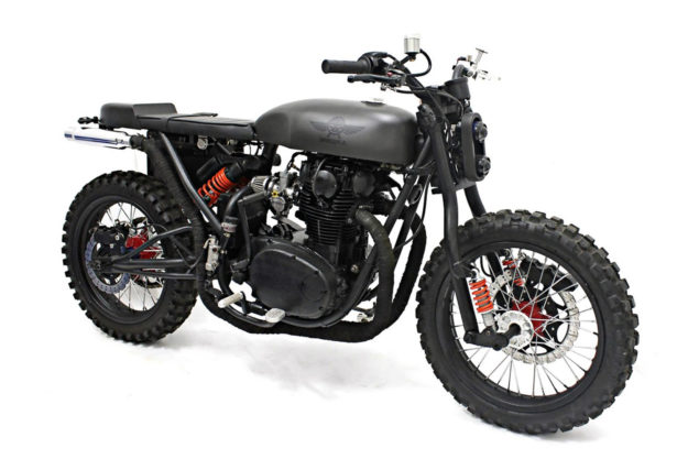 Yamaha XS650 by White Collar Bike
