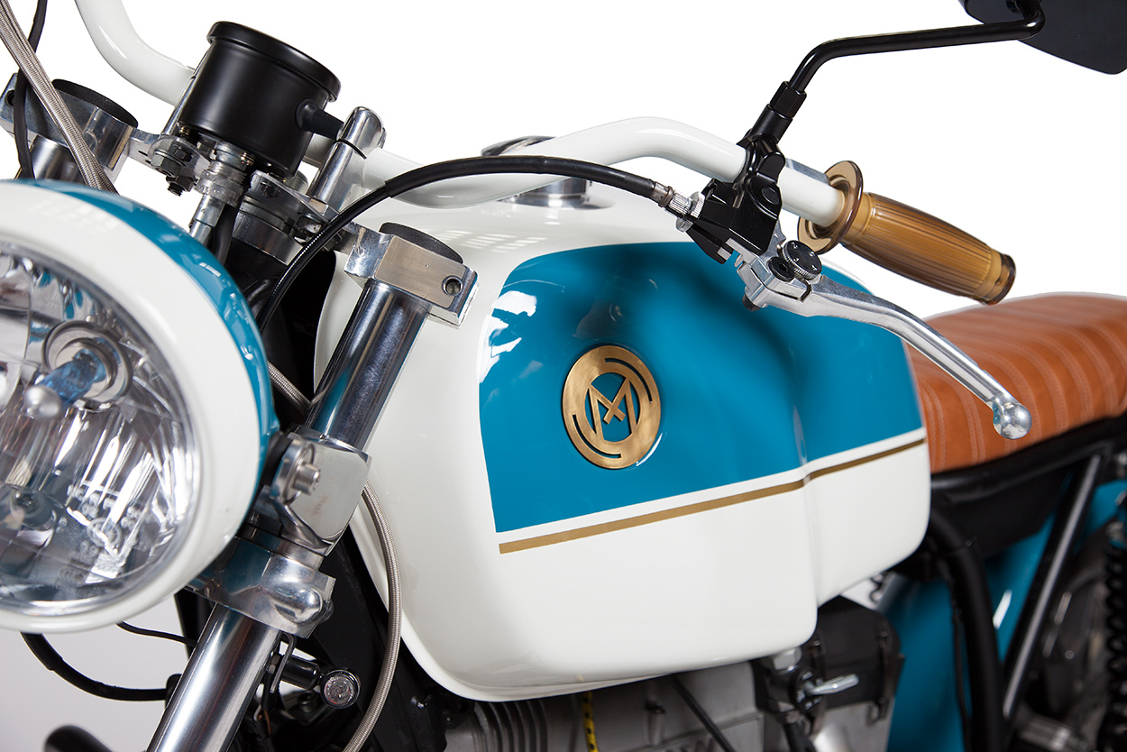 Salvage Job: Maria Motorcycles rescues a BMW R100 RS   Bike EXIF