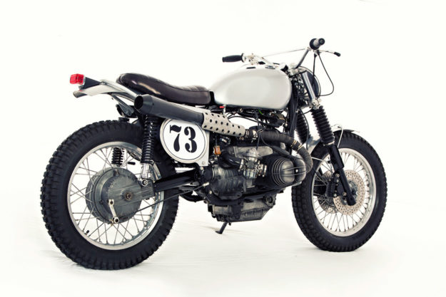 Sacrilege? This classic English-style trials bike has BMW power.