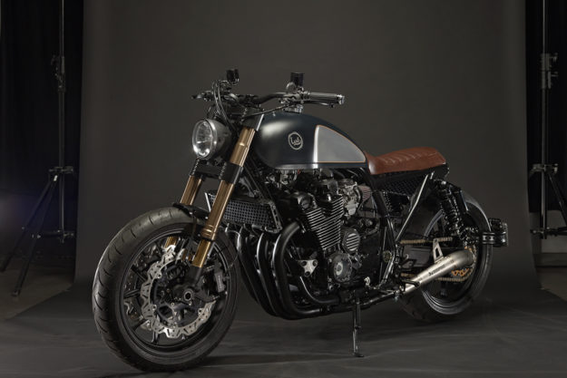 Custom Yamaha XJR 1200 by Jorge Rodrigues