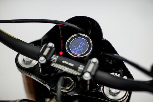 A brutal Honda CBX from Herencia Custom Garage