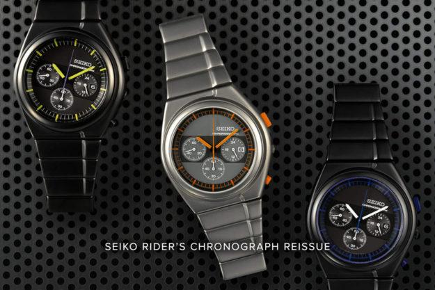Seiko x Giugiaro Design Rider's Chronograph