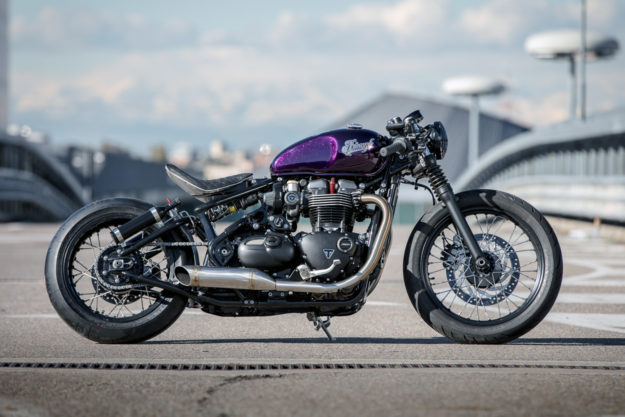 Triumph Bonneville Bobber by Down & Out Cafe Racers
