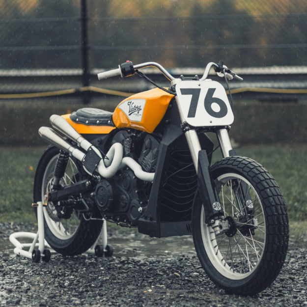 Canadian builder Sam Guertin turns the Victory Octane into a flat tracker