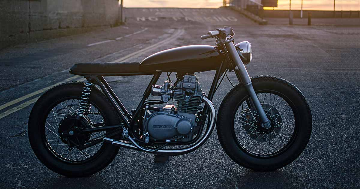 Auto Fabrica's KZ400: A two-wheeled Extreme Makeover