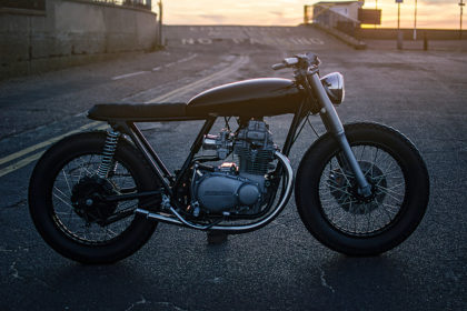 Two-wheeled Extreme Makeover: The Auto Fabric Kawasaki KZ400