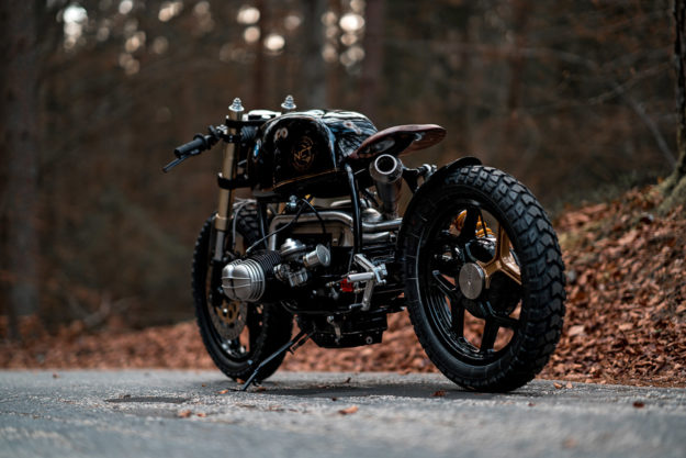 Custom BMW R100 motorcycle by NCT