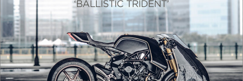 Ballistic Trident: A Custom MV Agusta Brutale 800 RR by Rough Crafts