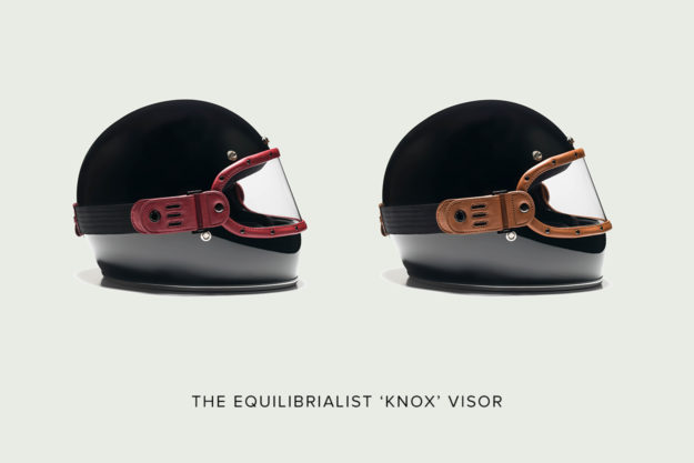Equilibrialist motorcycle visor