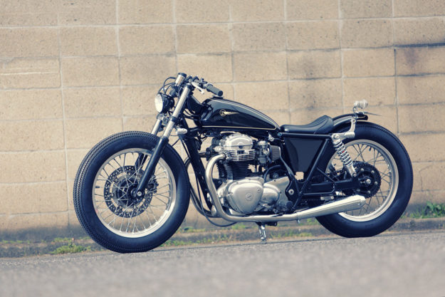 A Lesson in Sano: A custom Kawasaki W650 by Heiwa MC