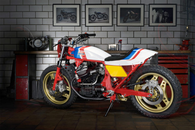 Pure 80s Magic: A Honda CX500 Street Tracker by Kingston Custom