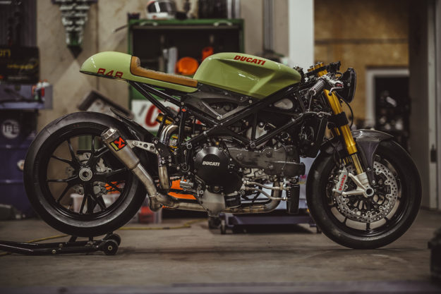 More Racer Than Cafe Ncts Stunning Ducati 848 Evo Bike Exif