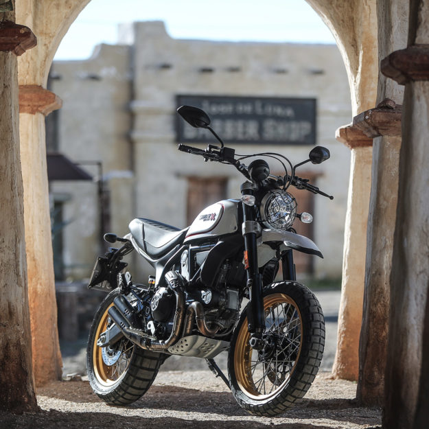review: scrambler ducati desert sled | bike exif