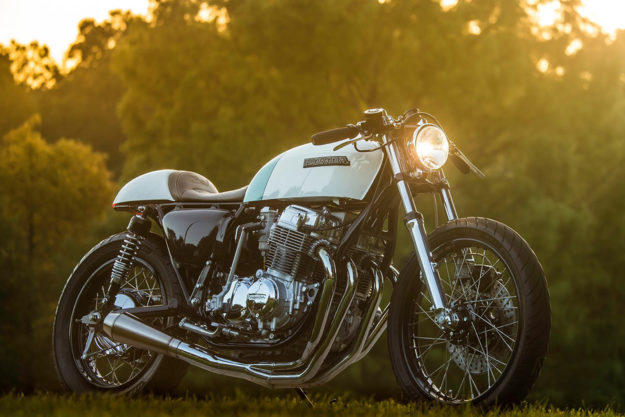 Make CBs Great Again Justin Websters Honda CB750 Cafe Racer