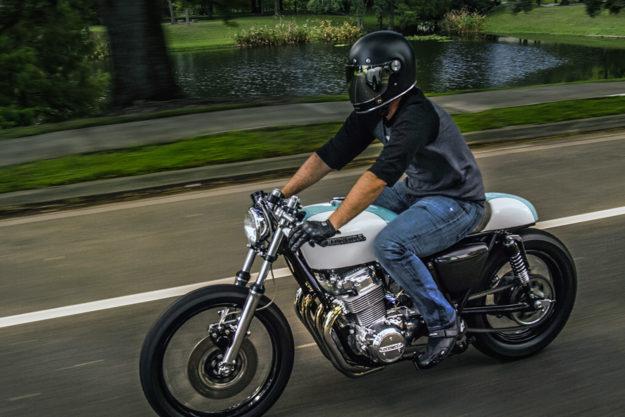 Make CBs Great Again: Justin Webster's Honda CB750 Cafe Racer