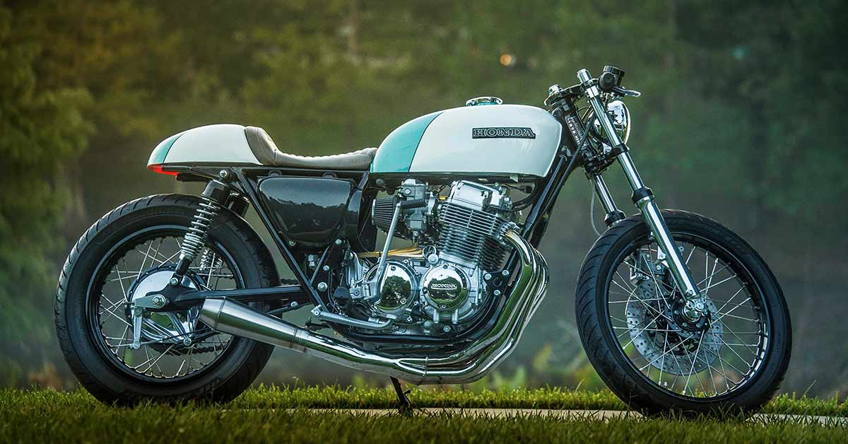 Make CBs Great Again: Justin Webster's Honda CB750 cafe