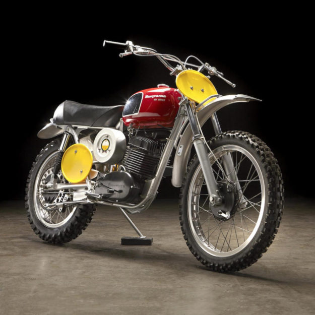 James Garner's 1970 Husqvarna 400 Cross