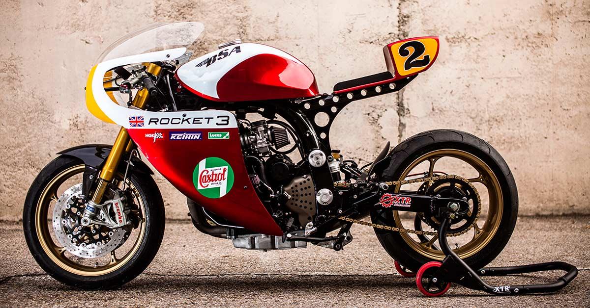 Rocket Man: Triumph Legend TT by XTR Pepo