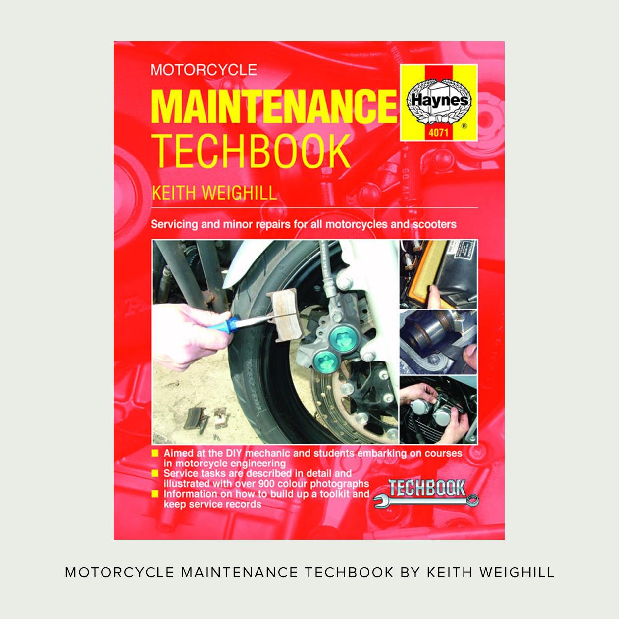 11 essential books for your motorcycle workshop bike exif rh bikeexif com Mechanic Repair Order Forms Mechanic Under Hood