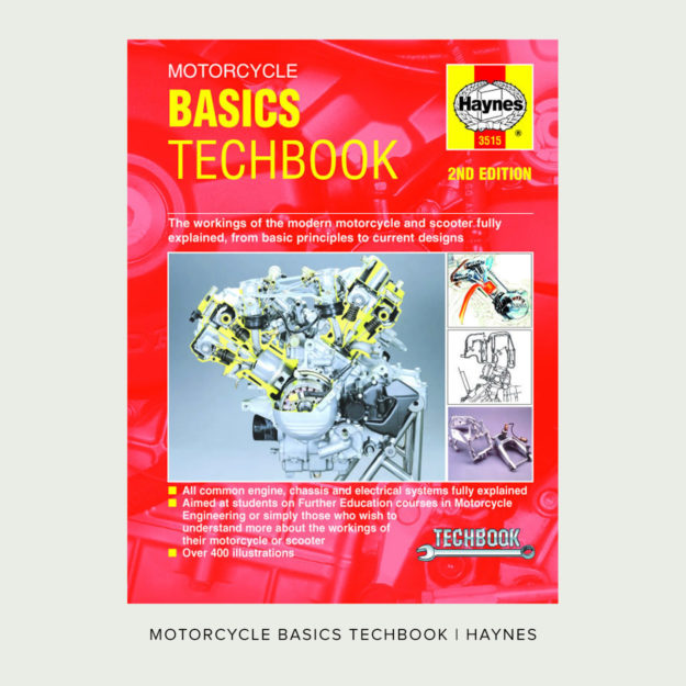 Motorcycle Basics Techbook by John Haynes