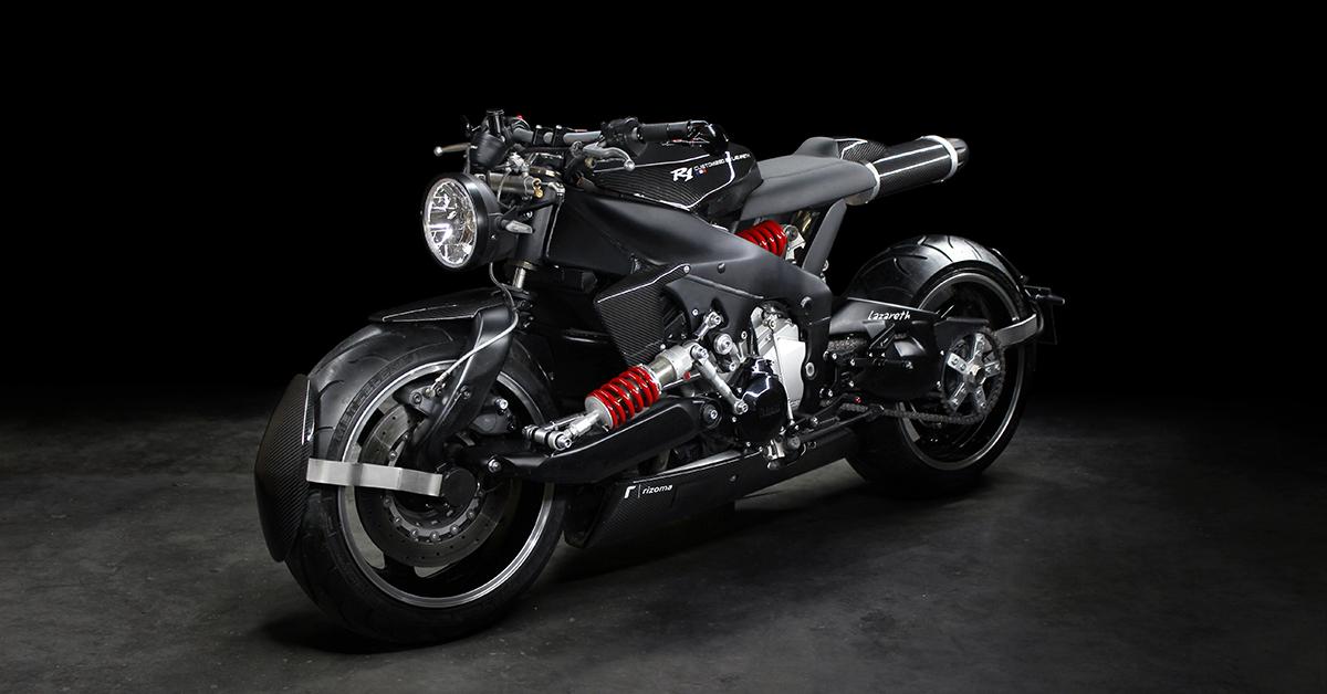 Euro Fighter: Lazareth's crazy, futuristic Yamaha YZF-R1