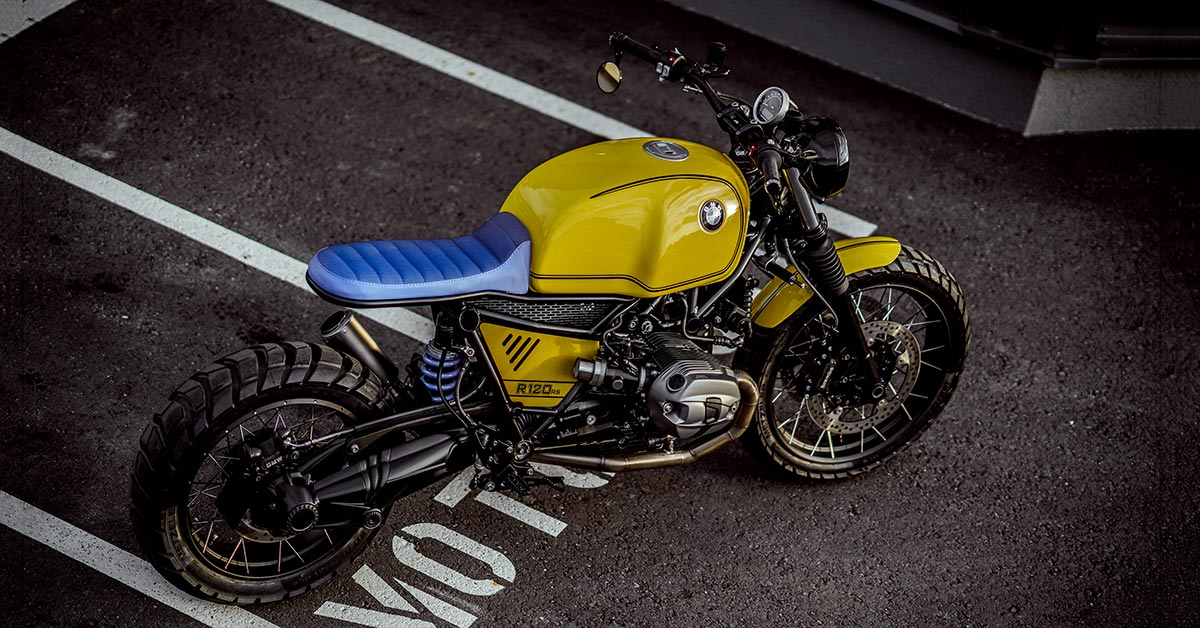 Perfectly scrambled: NCT deconstructs the BMW R nineT