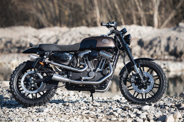 Battle of the Kings 2017: Sportster Roadster by Harley-Davidson Bologna