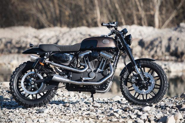 Battle of the Kings 2017: Sportster Roadster by Harley-Davidson Bologna
