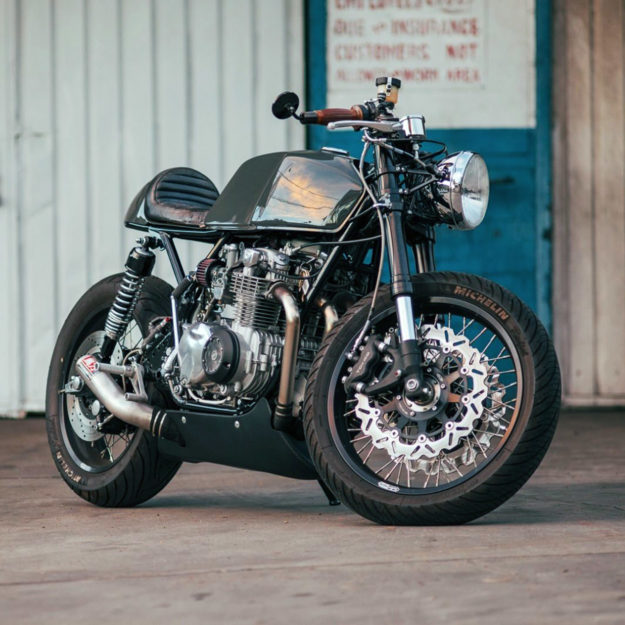 Honda CB550 by Cafe Cycles