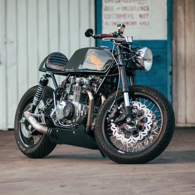 Honda CB550 by Cafe Cycles