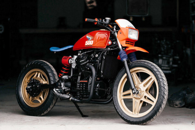 Honda CX500 by Brick House Builds