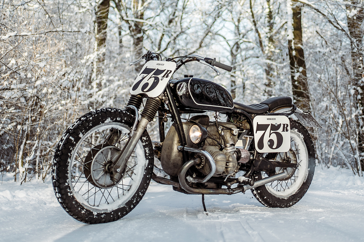 All About The Patina Nico Muellers Bmw R75 5 Bike Exif Motorcycle Wiring Harness Under Hood Is A Completely New Loom Nicos Also Taken It Upon Himself To Kick Old Airhead Into Life Each Time Hes Removed Starter