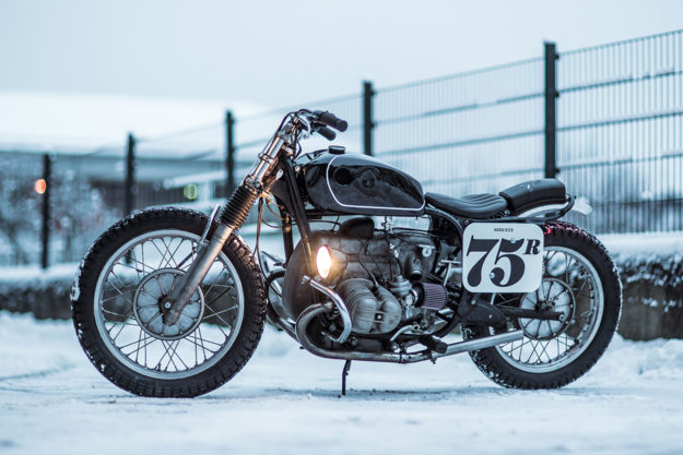 Nico Mueller of Hookie Co.'s personal BMW R75/5