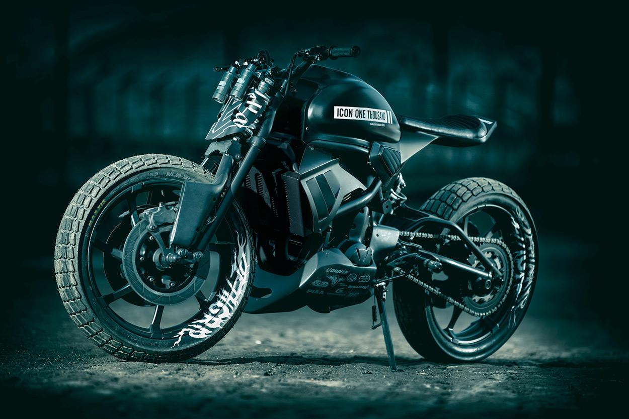 Hell On Wheels: ICON 1000's Kawasaki Vulcan tracker | Bike EXIF