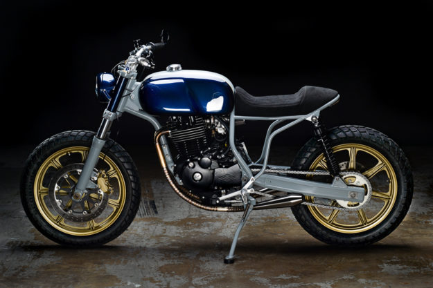 Custom Honda FT500 Ascot by Revival Cycles