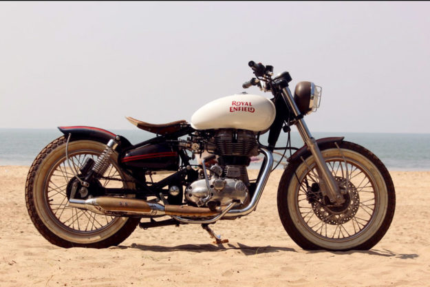 Royal Enfield Beach Tracker