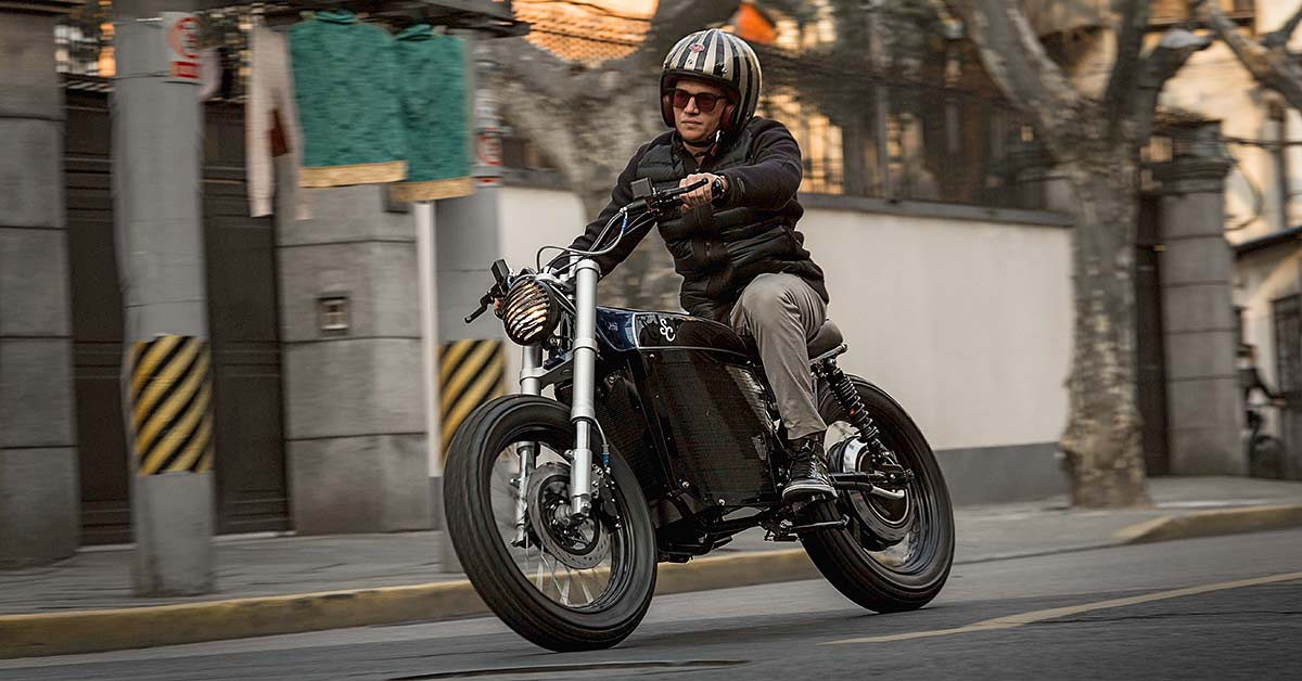 Get Amped: Shanghai Custom's electrifying street tracker
