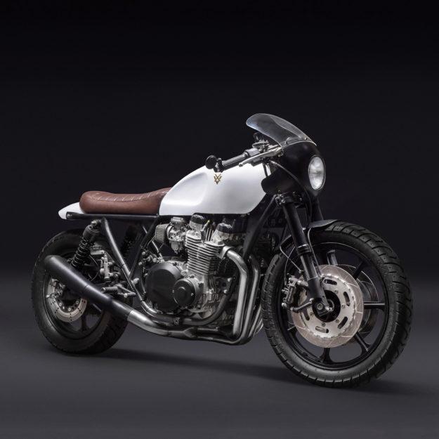 Kawasaki KZ1000 LTD resto-mod by Venier Customs