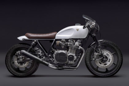 Kawasaki KZ1000 LTD resto-mod by Venier Customs