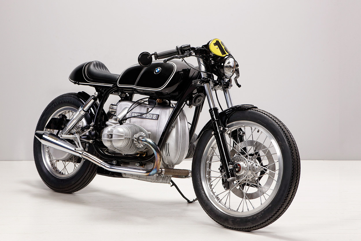 Next Level A BMW R90 6 With Vintage Racing Vibe