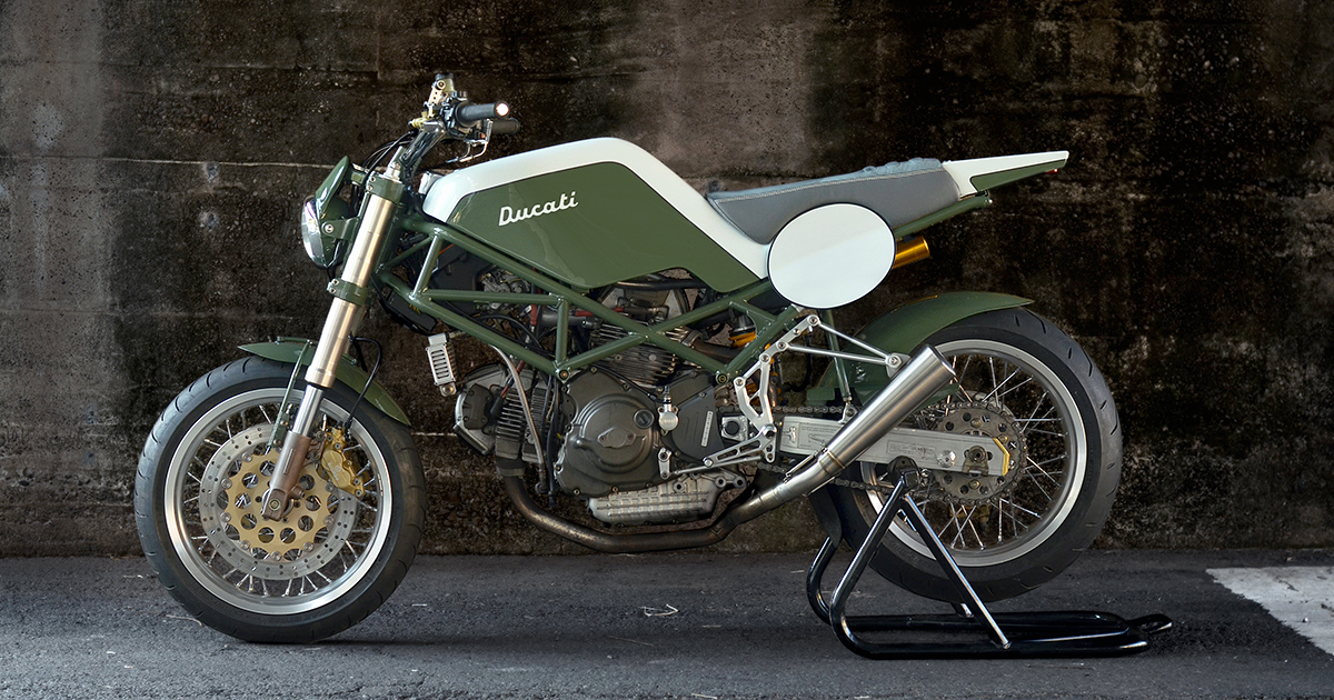 Monster Tracker: Speedtractor's Ducati M900