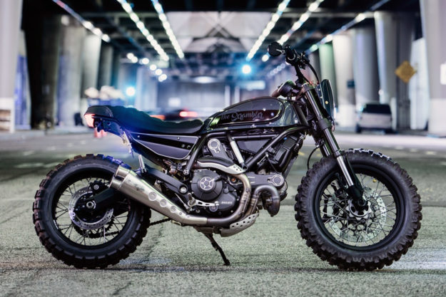 Scrambler Ducati by Coterie West