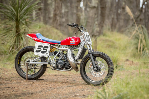 Honda CR500 tracker by C's Garage of Auckland, New Zealand