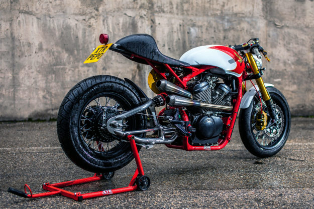 Honda Shadow 400 cafe racer by XTR Pepo