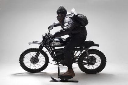 Snow Patrol: An ex-military Husqvarna 256 by 654 Motors