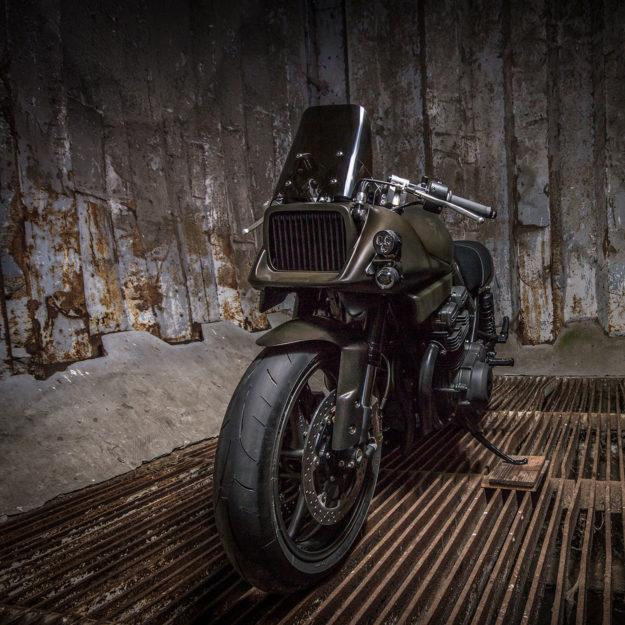 Custom Katana motorcycle by FCR Original